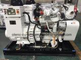 elektrisches Dieselset des generator-100kVA angeschalten durch Dieselmotor Cummins-Marine