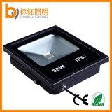 Beleuchtet Industrieobligation IP67 Flutlicht des Aluminium-50W im Freien RGB LED