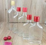 Médias Vidro plano num balão de garrafas de vinho Garrafa de licor de whisky de vidro