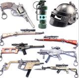 Metallo Keychain della muffa del gioco di Pubg Staem