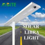 il sensore di movimento esterno solare 15With20With30With40With50With60With80With100With120W tutto compreso/ha integrato l'indicatore luminoso del giardino della via del LED