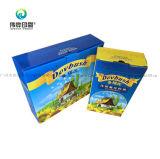 Цветной печати из гофрированного картона (масла) упаковочной коробке для хранения