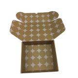 La impresión de plegado de papel corrugado personalizado con logotipo para embalaje