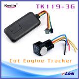 Sistema de Rastreamento por GPS 3G com óleo de corte para Gerenciamento de Frota Anti-Theft Tracker Tk119-3G