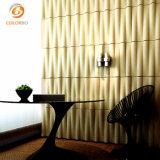 Home diseño de interiores 3D de fibras de poliéster panel decorativo insonorizadas