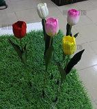 Lâmpada de paisagem exterior LED Tulip jardim florido de simulação de Lâmpada Lâmpada decorativa venda direta de fábrica
