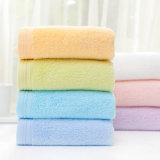 100% algodón liso reactivo diseño sólido teñido de toallas (JRD238)