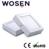 280mA de 6 W de aluminio del panel de luz LED panel LED para interiores