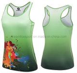 Cheap OEM Custom Sportswear imprime la ejecución de la sublimación Camiseta Camiseta de Entrenamiento