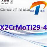 X2crmoti29-4 de Pijp van de Plaat van de Staaf van het roestvrij staal