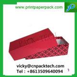 La impresión de cartón envases de lujo personalizado reloj pulsera o collar de joyas/caja de almacenamiento de regalo