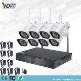 Wdm CCTV 1.0MP 8CHS/2.0MP caméra de surveillance sans fil WiFi NVR pour la maison de la sécurité du système d'alarme