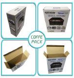Custom роскошь складная крафт-бумаги гофрированный картон упаковке с логотипом печать