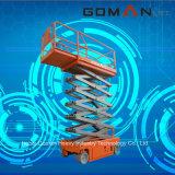 De elektrische Hydraulische Gemotoriseerde Lift van de Schaar van de Lift van de Mens voor Onderhoud