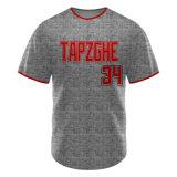Maglia Da Baseball Personalizzata A Bottone A Sublimazione Di Alta Qualità Del Design 2018