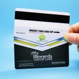자석 줄무늬를 가진 관례에 의하여 인쇄되는 PVC 선물 충절 카드