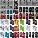 Les hommes de couleur du lecteur RUSH Nom et numéro de maillot de football de haut du réservoir