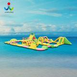 Materiales de PVC anti-UV de flotación inflable parque de atracciones de agua
