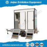De beweegbare Tijdelijke Toiletten van het Toilet van de Aanhangwagen van de Tractor voor Verkoop