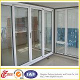 Ventana de desplazamiento comercial residencial del aluminio/PVC de la venta caliente