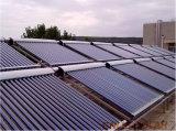 Масло под давлением тепловой трубой вакуумная трубка солнечной Collector с EN12975 Keymark SRCC солнечной системы сертификации