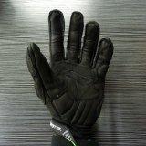 Motociclo di cuoio pieno di sport esterni della barretta che corre i guanti (MAG72)