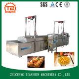 Coalhada de feijão e Tofu e fast food que fazem a máquina e que fritam a máquina