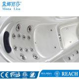Luxe 6 Ton van de Capaciteit van Mensen de Acrylic Round SPA Freestanding (m-3356)