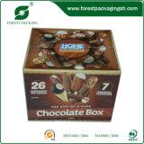 Impresión en Color caja de papel del chocolate