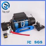 Torno campo a través impermeable 4X4 9500lbs de la cuerda sintetizada eléctrica aprobada del torno 9500lbs de la FCC (DH9500F-S)