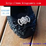 靴またはハンドバッグのための方法装飾のラインストーンのバックル