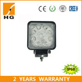 4.6inch Ce Approved Square 27W LED Work Light voor Offroad