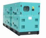Abrir-Tipo gerador Diesel de 50Hz 225kVA refrigerar de água de Doosan