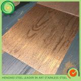 Wholesales 304 geprägtes Stainlesss Stahlblech-Farben-Blatt für Dekoration