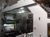 6 Machine van de Druk van de Materialen van de Verpakking van de Hoge snelheid van kleuren Flexographic
