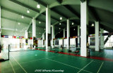 Badminton interno/ao ar livre do PVC ostenta o revestimento da corte