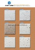 安く設計された固体表面の二重カラー人工的な水晶石の平板