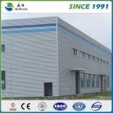 Edificio de dos pisos prefabricado de la estructura de acero para la oficina del taller del almacén