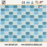 Mattonelle variopinte del bordo del mosaico di vetro macchiato dell'appartamento del mosaico per le pareti