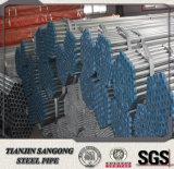 Ronda Gi de tubería de acero de 3 pulgadas Recubrimiento de zinc 200G / M2
