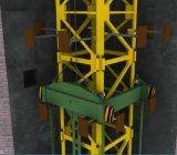 中の上昇のタワークレーン(3ton-25トン)