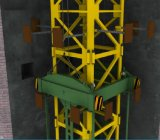 Guindaste de torre de escalada interno (tonelada 3ton-25)