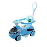 Automobile del giocattolo dei quattro bambini delle grandi rotelle con lampeggiante