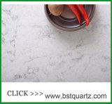Искусственный сляб камня кварца с естественными венами