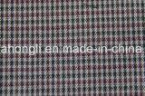 Os fios tingidos T/R Plaid tecido, 65%32 poliéster%Rayon 3%elastano, 255 gsm