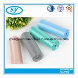 Sacs d'ordures biodégradables du plastique HDPE/LDPE