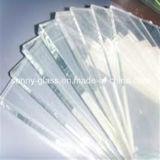 Extra claro de vidrio flotado para la construcción / Decoración