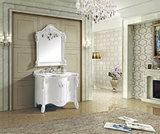 Gabinete de banheiro de madeira maciça de venda quente (CAG30051)