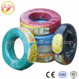 Überzogener kupferner elektrischer Plastikdraht 1.5mm2 2.5mm2 4mm2 6mm2
