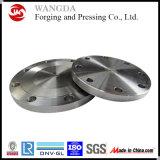 Estampage de la bride de plaque métallique en acier de moulin de pièces